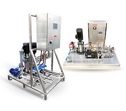 Liquid Polymer Makedown System Rigs