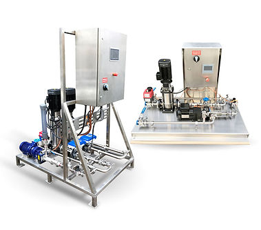 liquid polymer makedown system rig