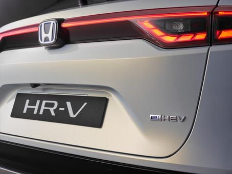 Honda annuncia versioni e prezzi del nuovo HR-V e:HEV Full Hybrid