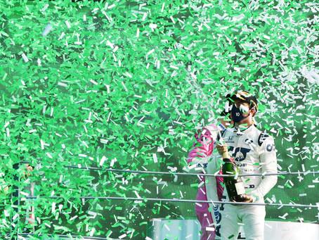 Pierre Gasly vince la sua prima gara in F1 nel Gran Premio di Monza
