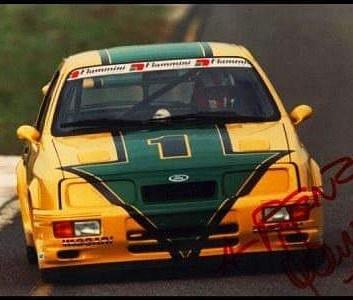 ...e poi arrivo lei, velocissima e unica Sierra Cosworth