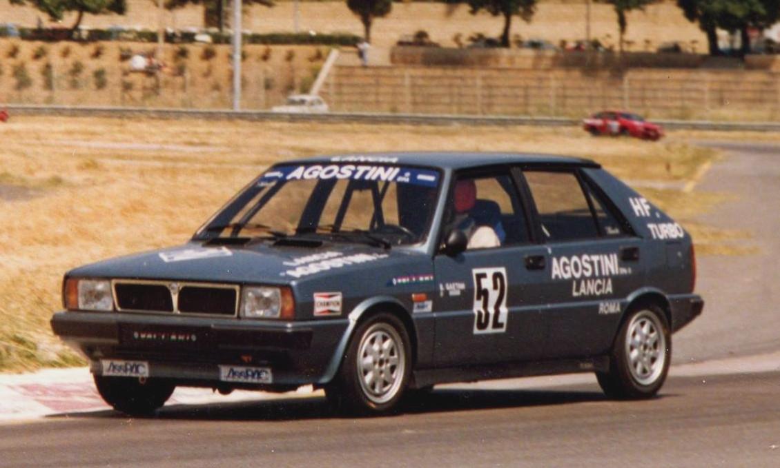 la prima delta turbo campione con Boni Gaetani