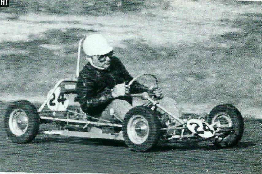 Renzo Vaccari e il suo primo Kart
