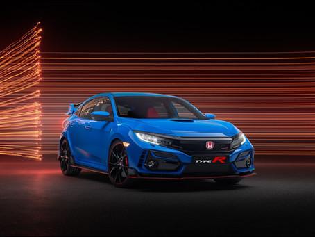 Nuova Honda Civic Type R e Nuova colorazione Honda NSX per il 2020.