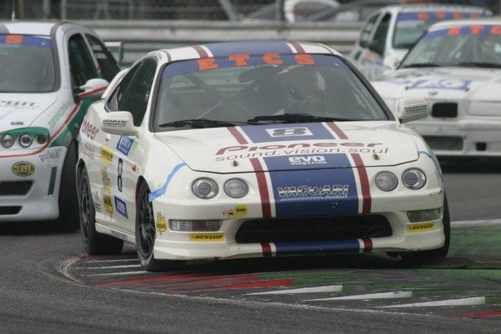 Honda Integra a Monza qui con Simone Di Mario