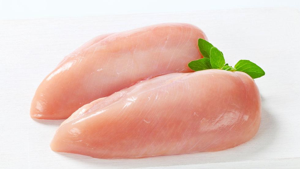 Pechuga de pollo deshuesada