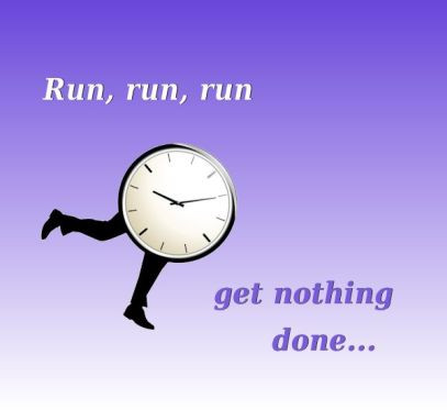 Run, Run, Run, But Getting Nowhere