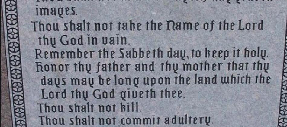 Evil Men Reject The Law of God