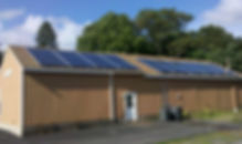 Mansfield Auto Care solar rooftop