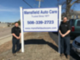 Mansfield Auto Care Family Owned David & Joel
