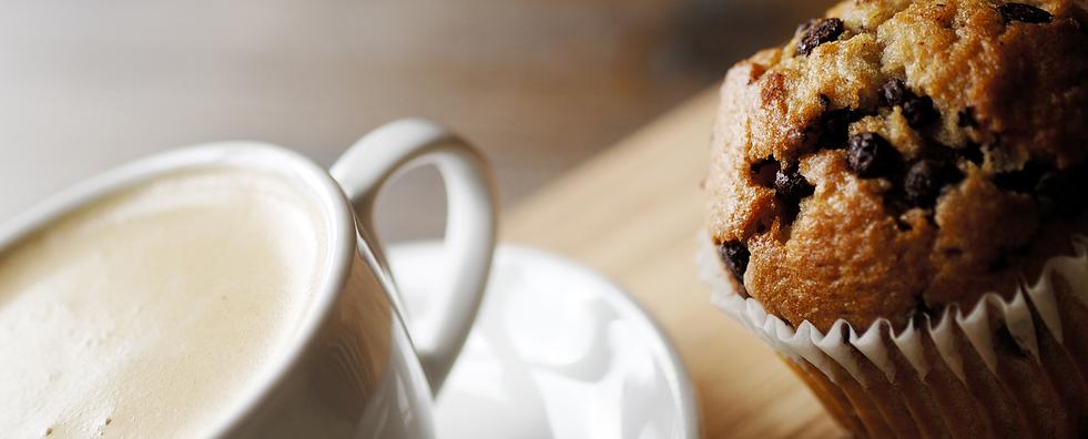 café gourmand muffin pepites chocolat