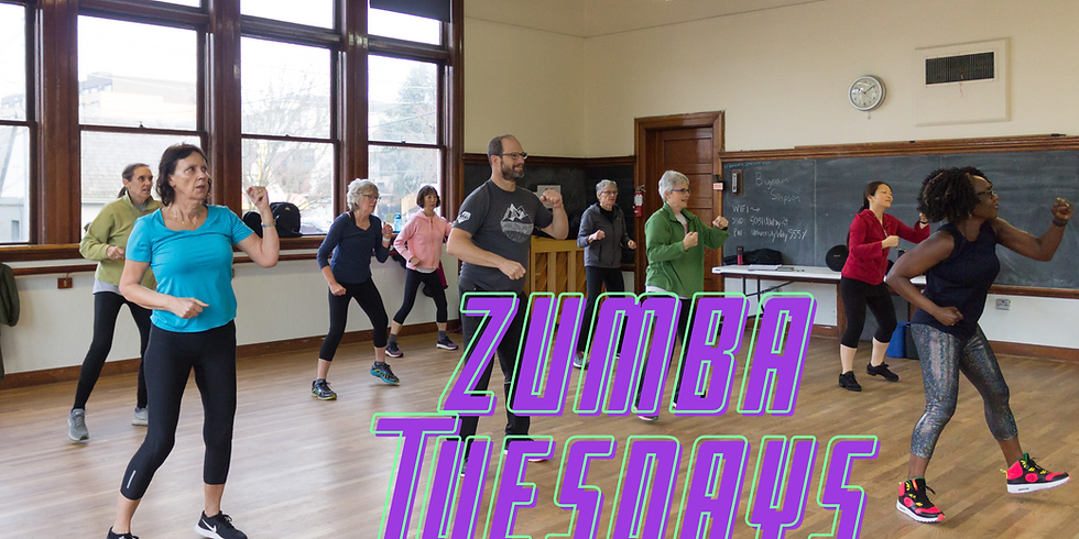 Zumba at UHeights (Tuesdays)