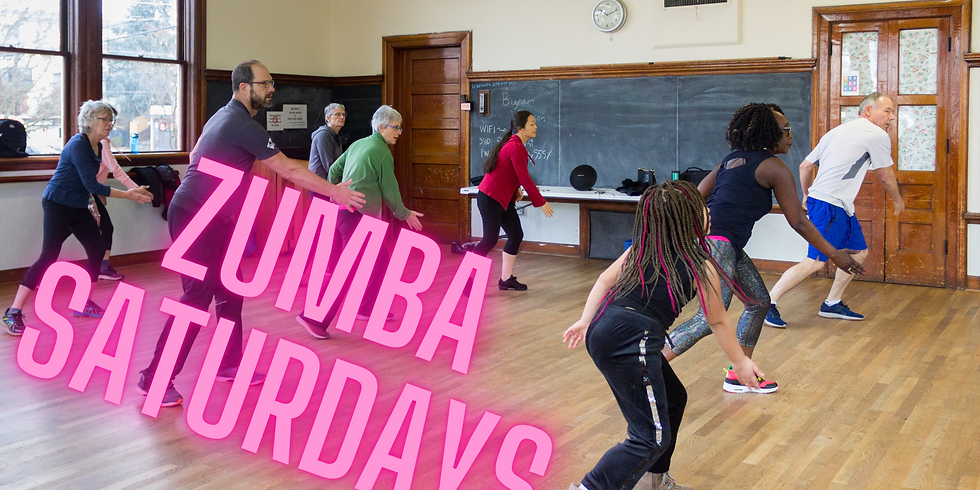 Zumba at UHeights (Saturdays)