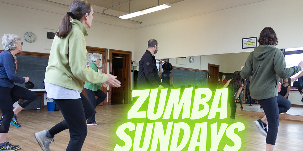 Zumba at UHeights (Sundays)