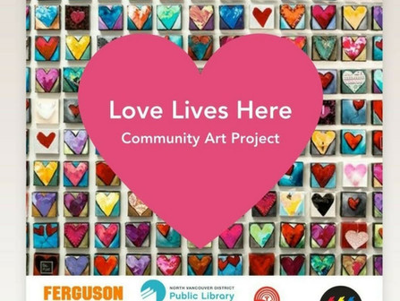 Love Lives Here - Art Initiative July 2021