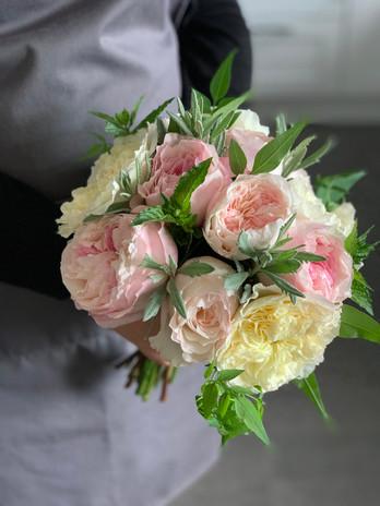 David Austin Bridal Bouquet