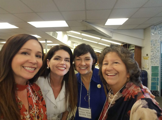 Mayor Regina Romero, State Senator Steele, and SUSD Board member Eva Carrillo Dong