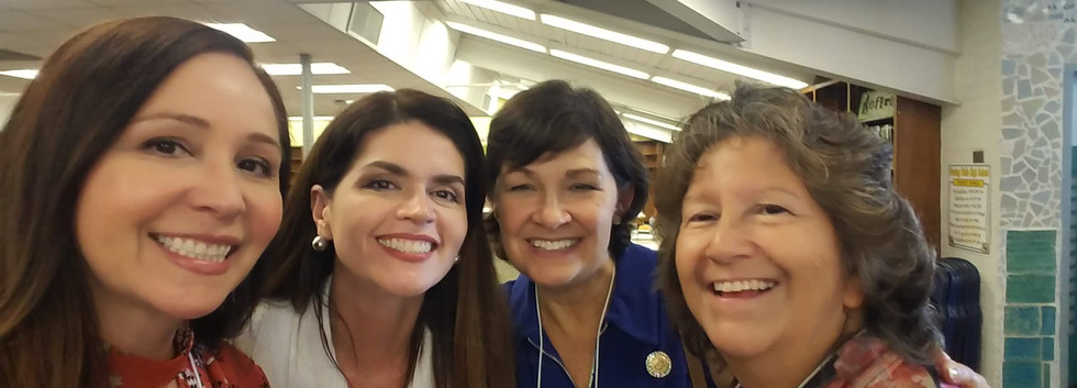 Mayor Regina Romero, State Senator Steele, and SUSD Board member Eva Carrillo Dong