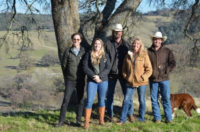 The Van Der Veen Family on Grandview Ranch