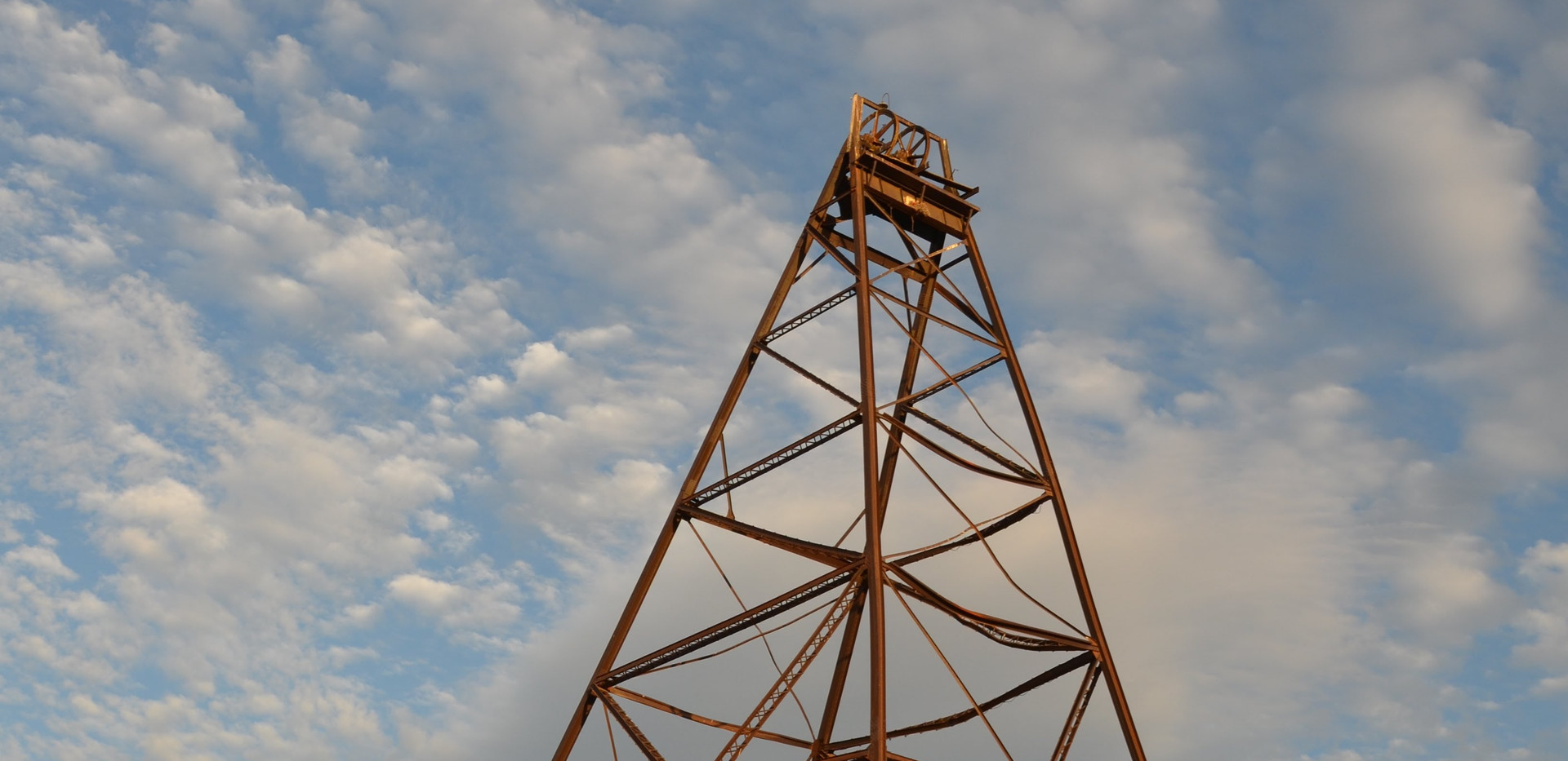 """""""A-Frame"""" for local gold mine"""