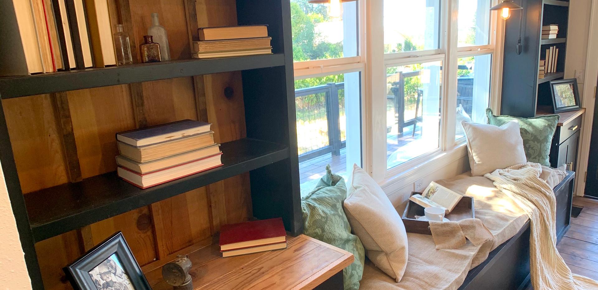 Custom Book Shelves
