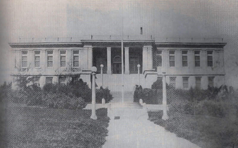 Amador High School from 1913. Perviously known at Sutter Creek High School