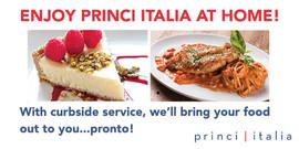 Princi Italia Curbside Digital Billboard Ad for West Plano Village August 2018