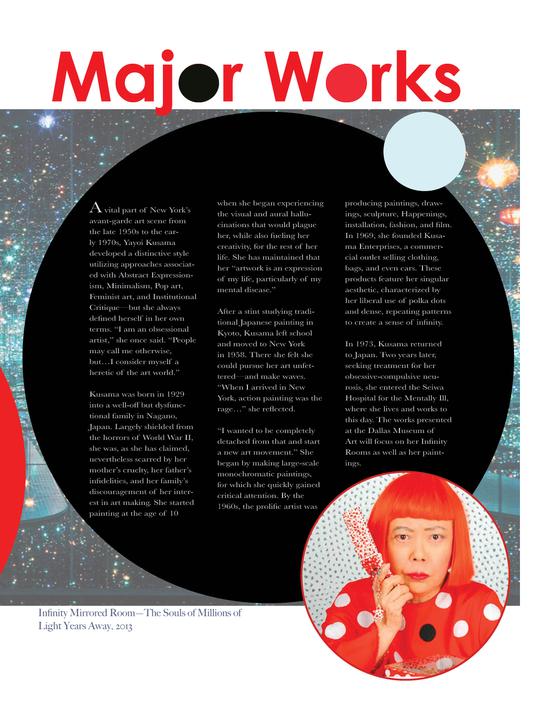Yayoi Kusama Magazine Layout Design.png