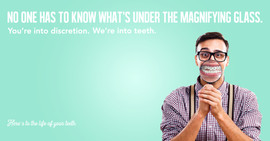 Smile Workshop Facebook Ad 2018 Magnifying Glass