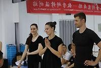 Katie Burks Creative Dance China