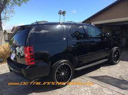 BLACK Chevy Tahoe
