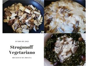 Strogonoff Vegetariano