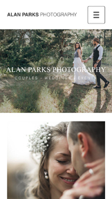 Events & Portraits website templates – Couples Photography