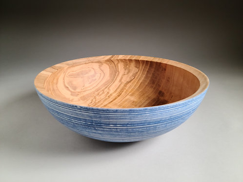 Large Colored Ash Bowl