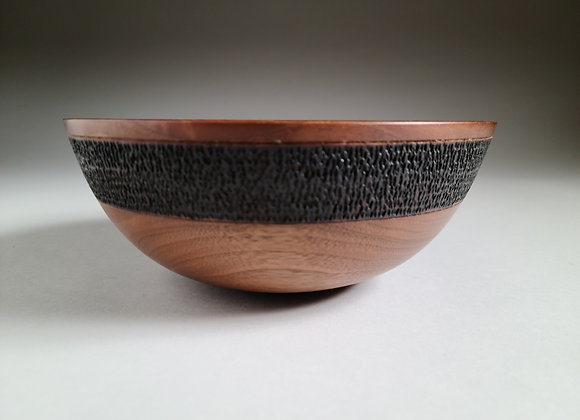 Medium Size Black Walnut Bowl