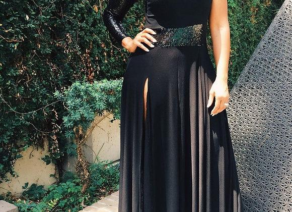 Sequin Maxi Dress - Plus Size