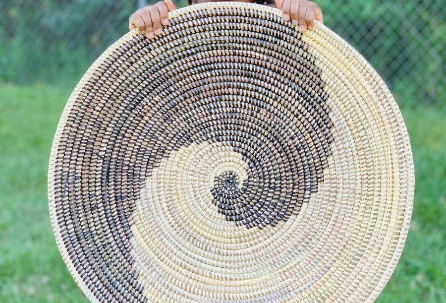 Layou Sweet Grass Tray