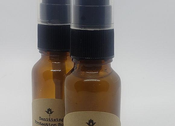 Sanitizing Protection Spray Blends