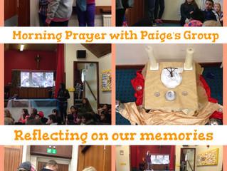 Wednesday's Morning Prayer