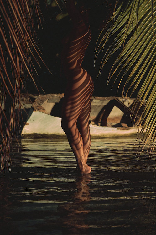 "Tirage ""Sun dress"" - Yann Luine - Tahiti"