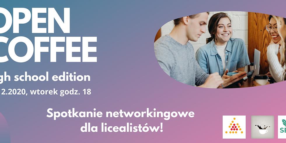 Open Coffee High School Krakow