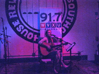 Ellie Fabe at The Southgate House Revival  91.7 WVXU Tiny Desk Showcase