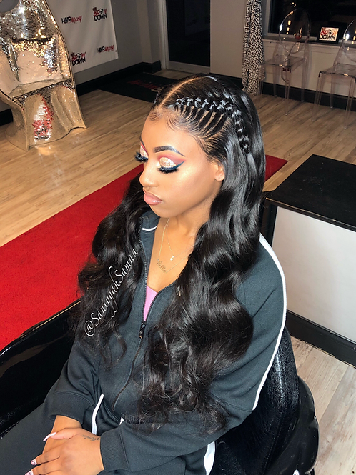"""Indian Wavy"" Full Lace Wig"