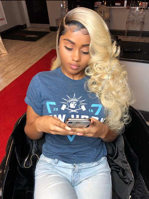 """Dumb Blonde"" Full Lace Wig"