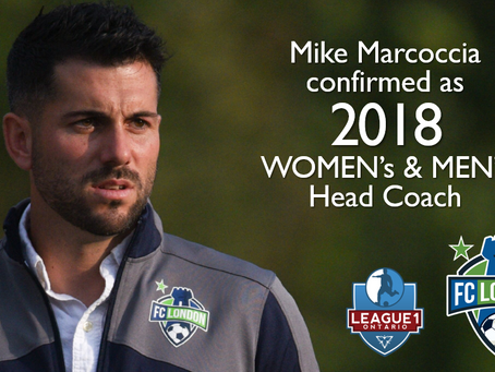 Marcoccia announced as 2018 League1 Head Coach