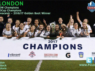 FC LONDON Women win 2nd League1 CUP