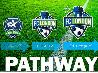 The FC LONDON player PATHWAY