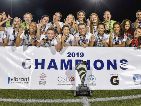 FC LONDON Women - 2019 Champions