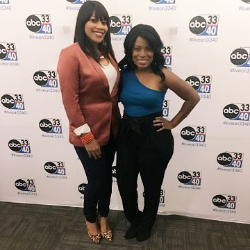 Had the chance to discuss Celebrity Trends highlighting lash extensions with TV personality Kimberly West on ABC 33/40 Talk of Alabama.  Our Model above, Nicole Rohr (Marketing Expert) rocked The Classic Lash Extensions!