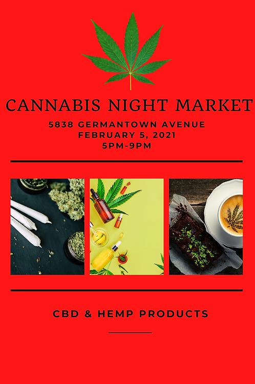 Cannabis Night Market (February 12)